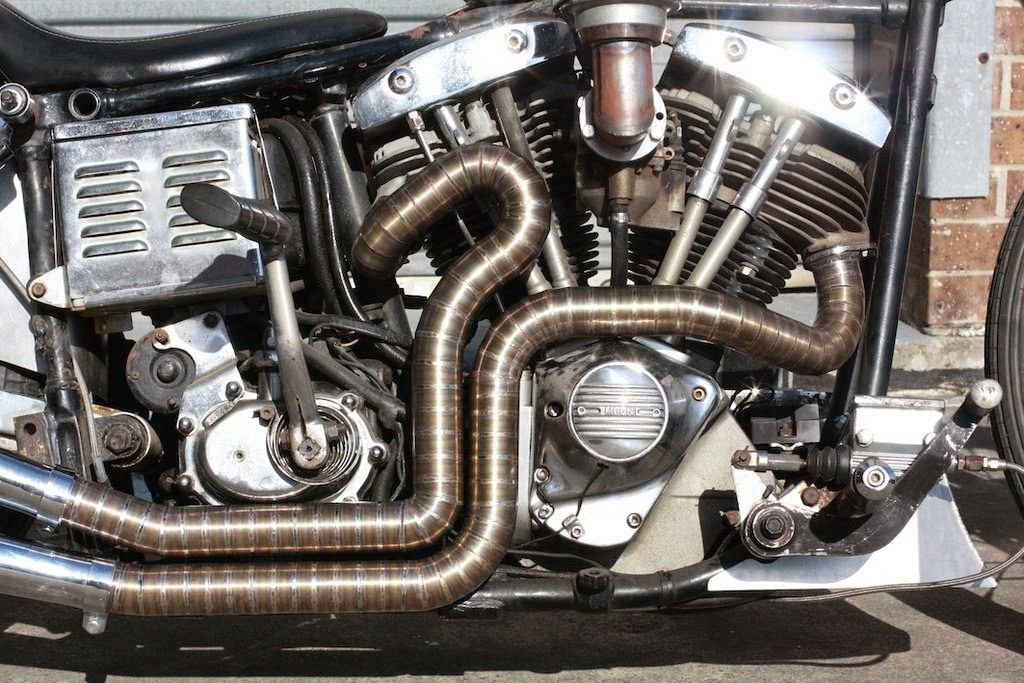 harley davidson exhaust pipes types