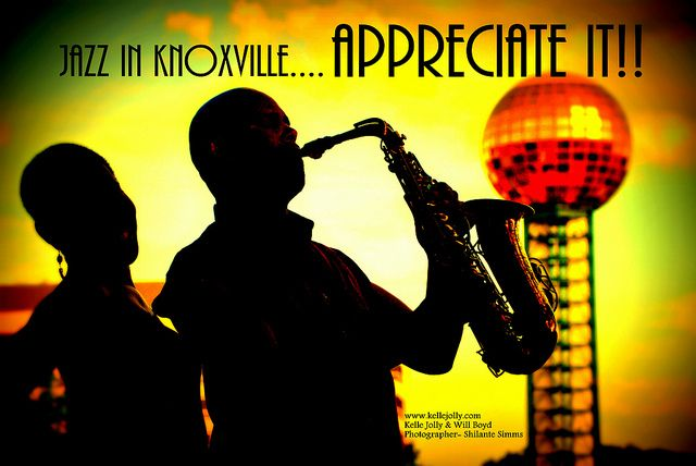 jazz appreciate by Visit Knoxville, jazz day at the city county building 4/30 at noon