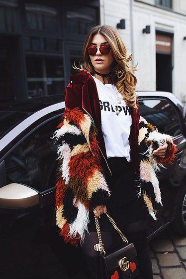 Get this look: http://lb.nu/look/8602705  More looks by NA-KD: http://lb.nu/nakdfashion  Items in this look:  Sanne Alexandra Velvet Jacket, Josefin Ekström Grl Pwr T Shirt   #chic #edgy #street #nakdfashion #girl #power #girlpower #grl #pwr