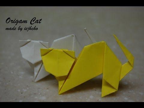 Photo of Origami Cat Animal Video/ 종이접기 고양이 접는 방법 동영상