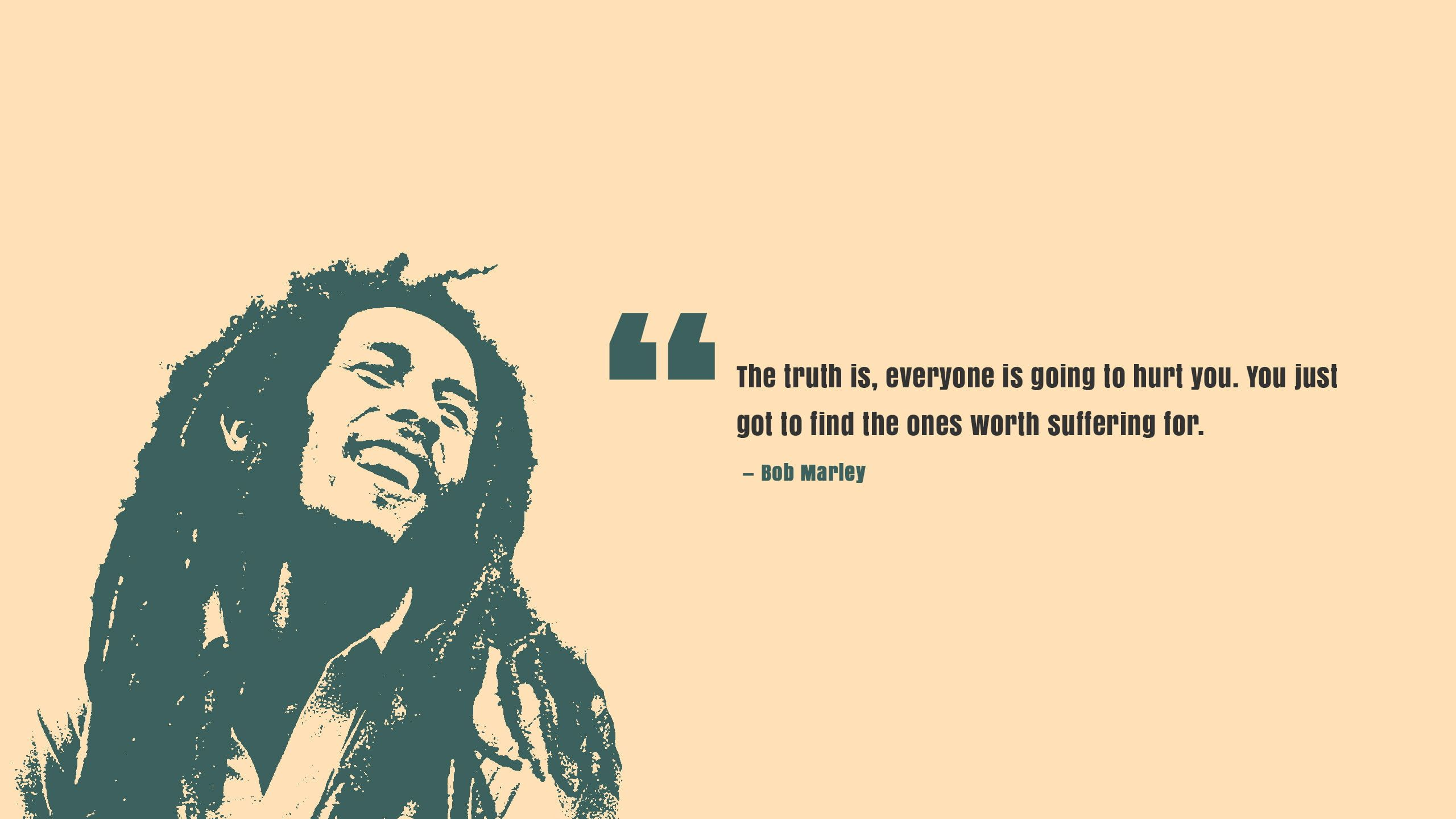 Truth Popular Quotes Bob Marley Worth 2k Wallpaper Hdwallpaper Desktop Bob Marley Marley Bob Marley Poster
