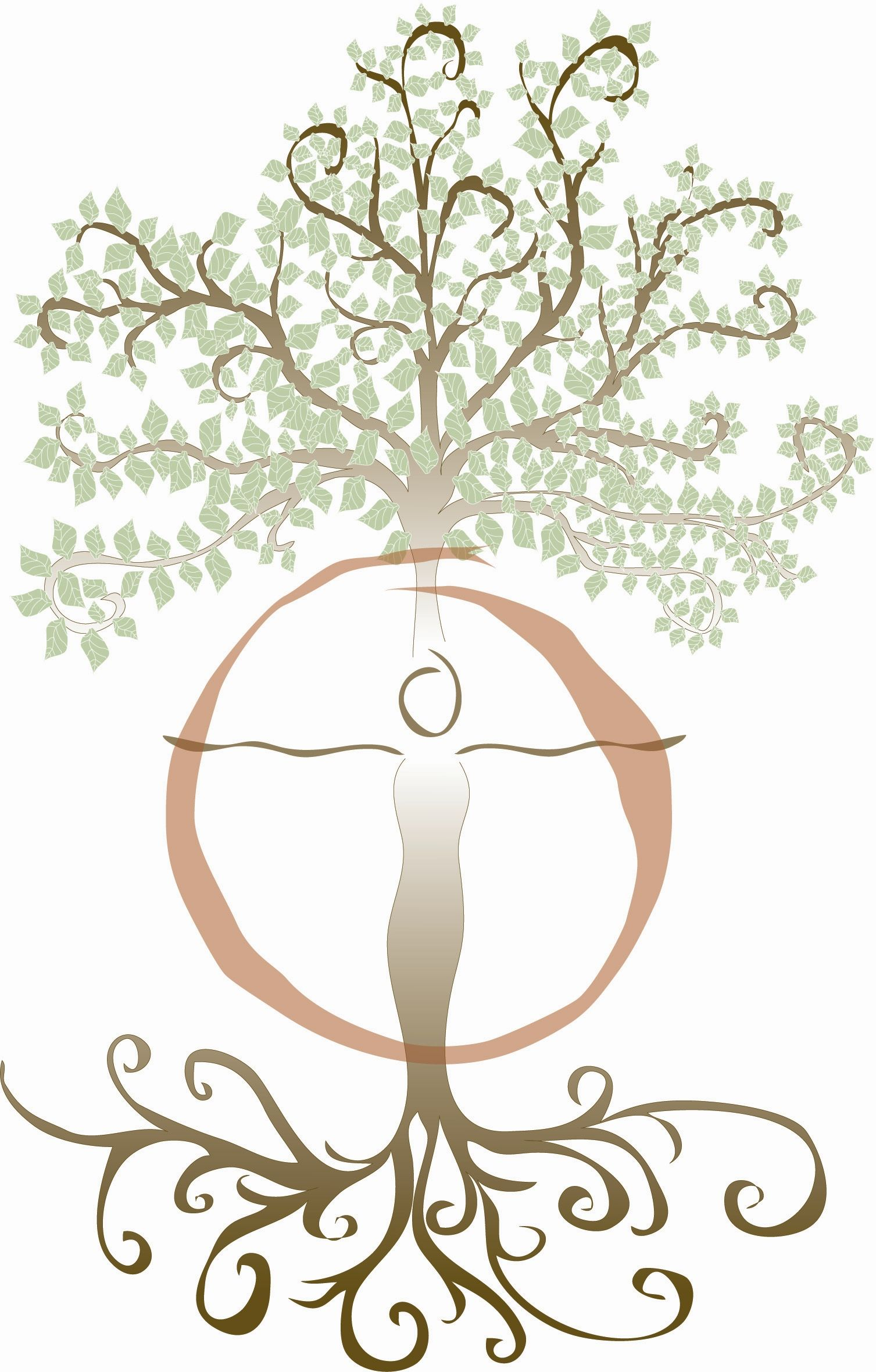Mother Goddess Symbol Symbol With The Circle Surrounding Her