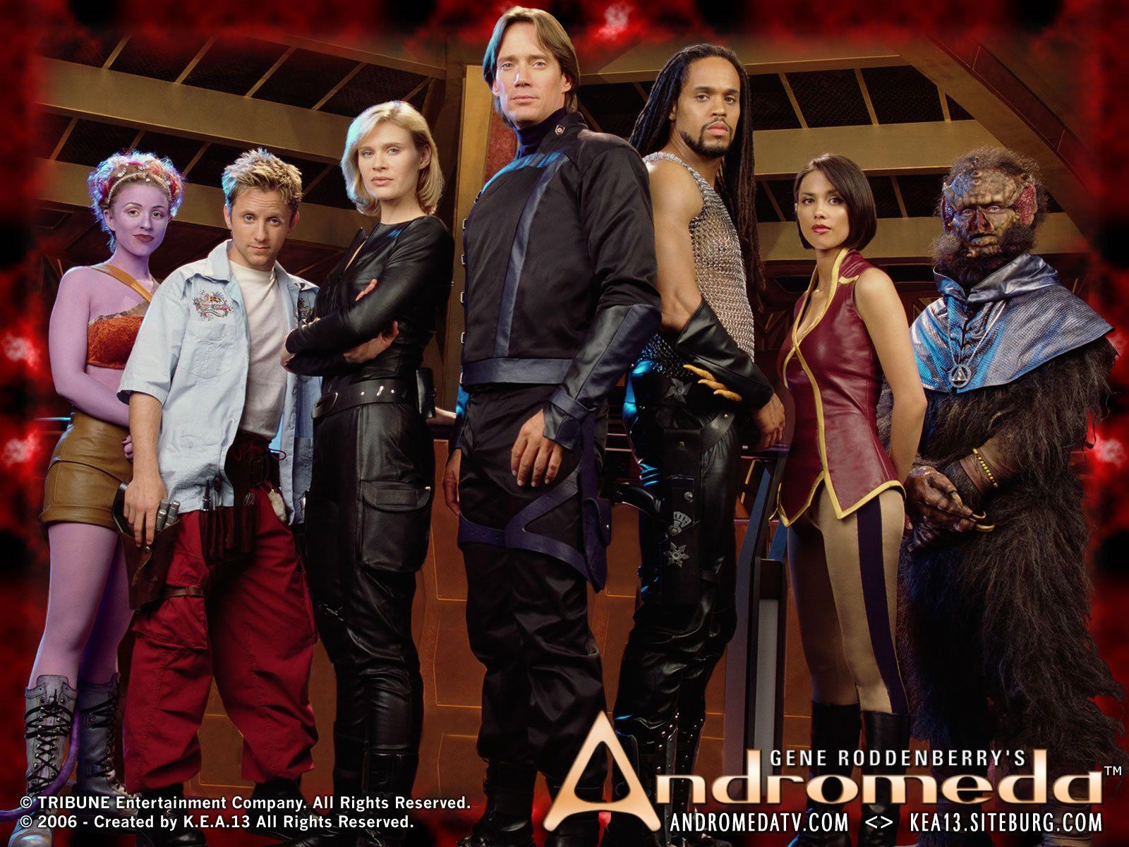 Andromeda wallpaper - season 1