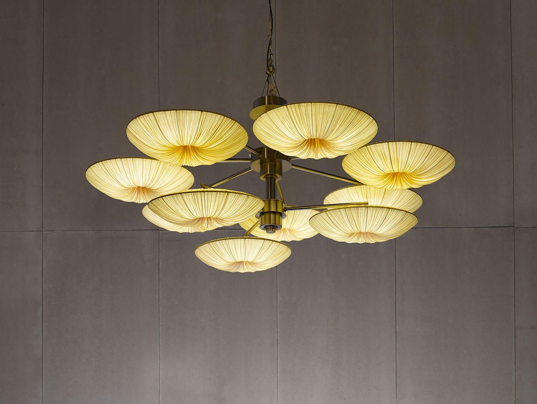 Sunsa 10 Chandelier Aqua Creations Designer Lighting Lightthatmatters Asian Chandeliers Contemporary Lighting Design Chandelier Shades