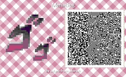 Jjba Menacing Acqr Animal Crossing Animal Crossing Qr Codes Clothes Animal Crossing Qr