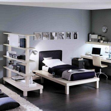 exemple deco chambre ado garcon design   Deco chambre ados, Ado et ...