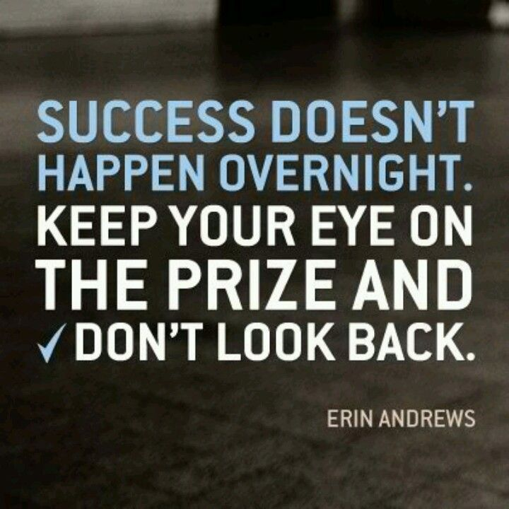 Stay encouraged and keep pushing!