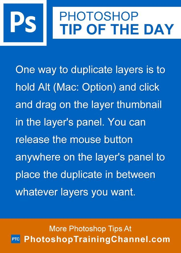 Photoshop tip of the day - Duplicating layers. Photoshop tips. Nordic360.