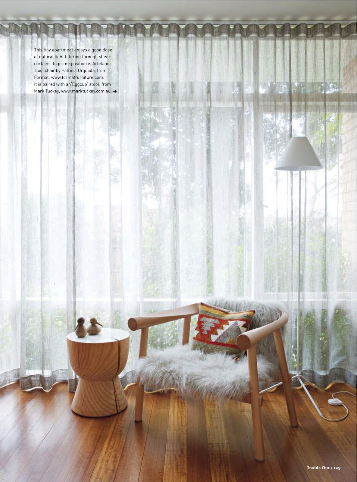 Simone Haag: curtains | Interior Design Bedrooms | Pinterest | Sheer ...