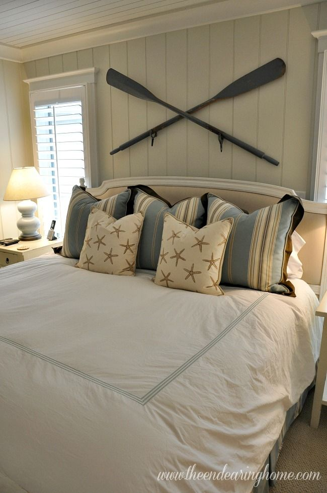 24 Awesome Nautical Home Decoration Ideas Lakehouse Bedroom