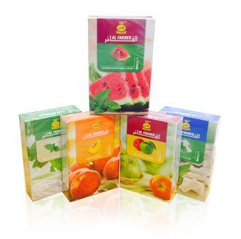 Al Fakher Flavored Tobacco 50g Spearmint Gum Flavors Double Apple