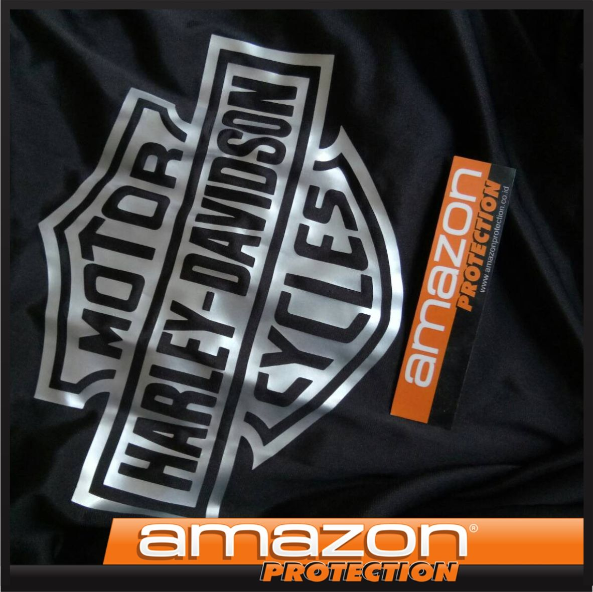 Harley Davidson Premium Motorcycle Cover By Amazon Protection Harley Davidson Harley Motorcycle Cover