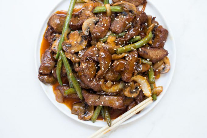 Panda Express Shanghai Angus Steak Is A Quick Stir Fry Dish Made