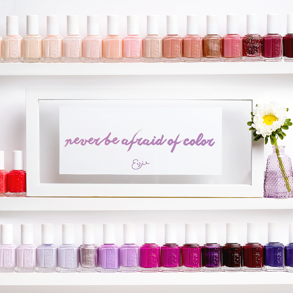 Pink or purple, bright or dark, live your life in essie colors. You ...