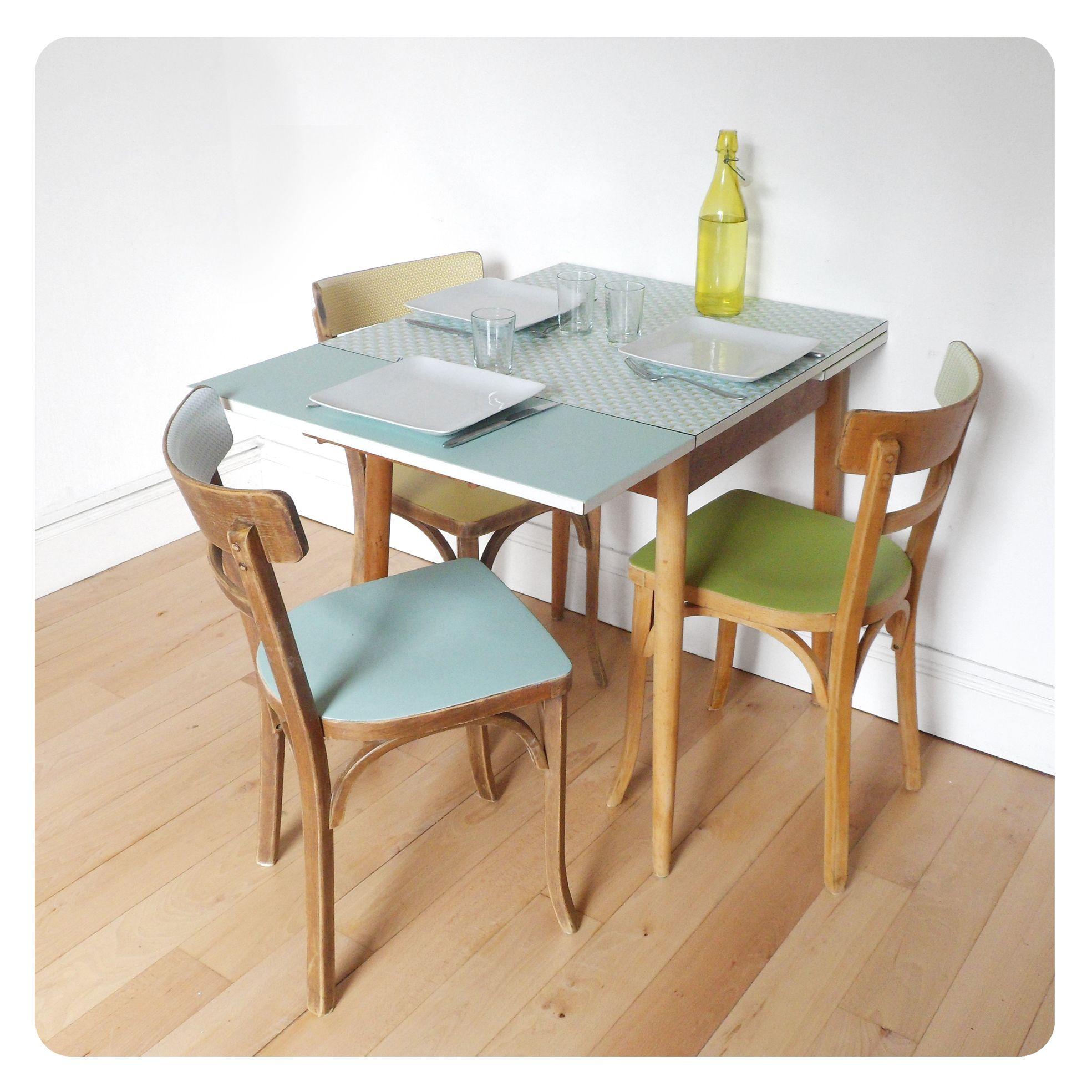 Table Formica Organiser Les Armoires De Cuisine Table Et Chaises Deco Appartement