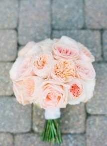Mixed Rose Bouquet | Peach & Pink | On SMP: http://www.stylemepretty.com/2013/11/20/a-maryland-estate-wedding-from-jodi-miller-photography | Jodi Miller Photography