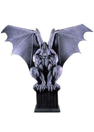 8 Foot Tall Gargoyle Halloween Haunted House Animated Prop 14 Foot Wingspan   eBay