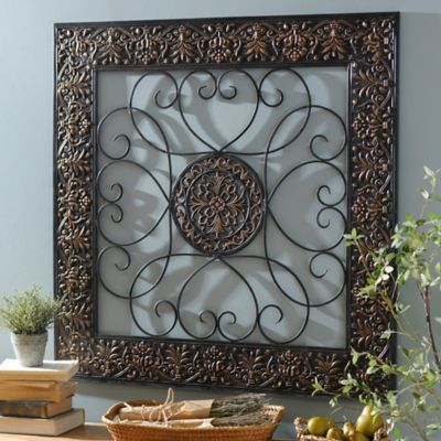 Product Details Bronze Embossed Medallion Metal Wall