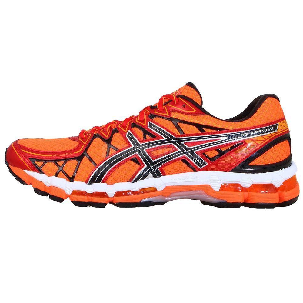 Asics Gel Kayano 20 Orange Cushion Jogging Running Shoes