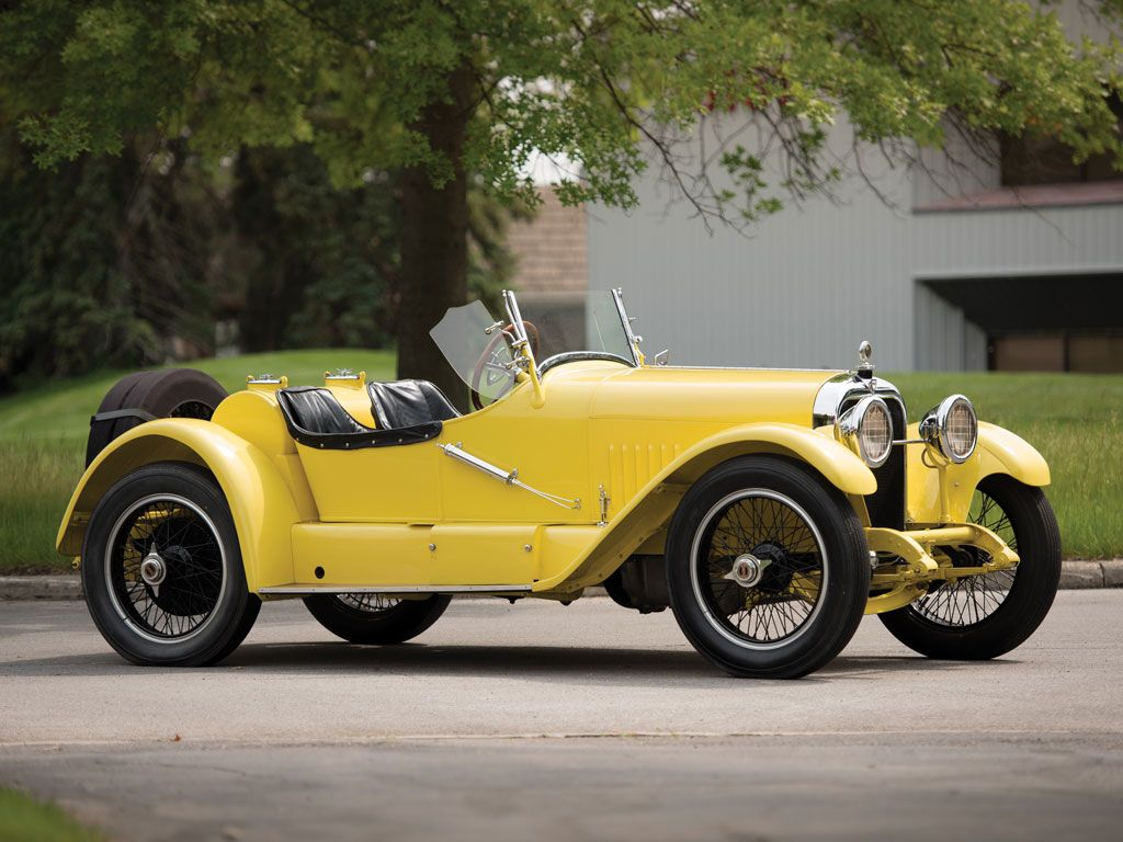 1922 Mercer Series 5 Raceabout  - (Mercer Automobile Co. Trenton, New Jersey 1910-1925)