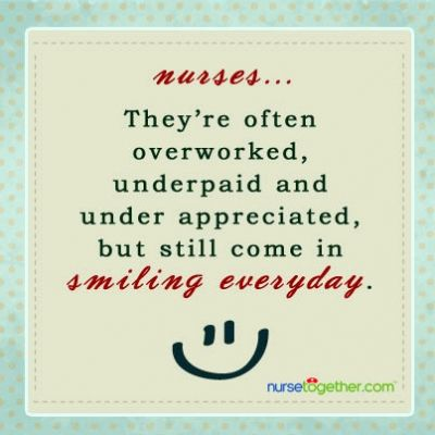 Nurses Quotes Nursesthey're Often Overworked Underpaid And Under Appreciated .