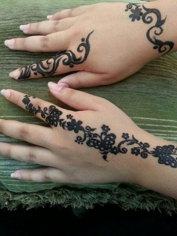 Red Henna Tattoo: Black Hena Is Similar To Tatoo .