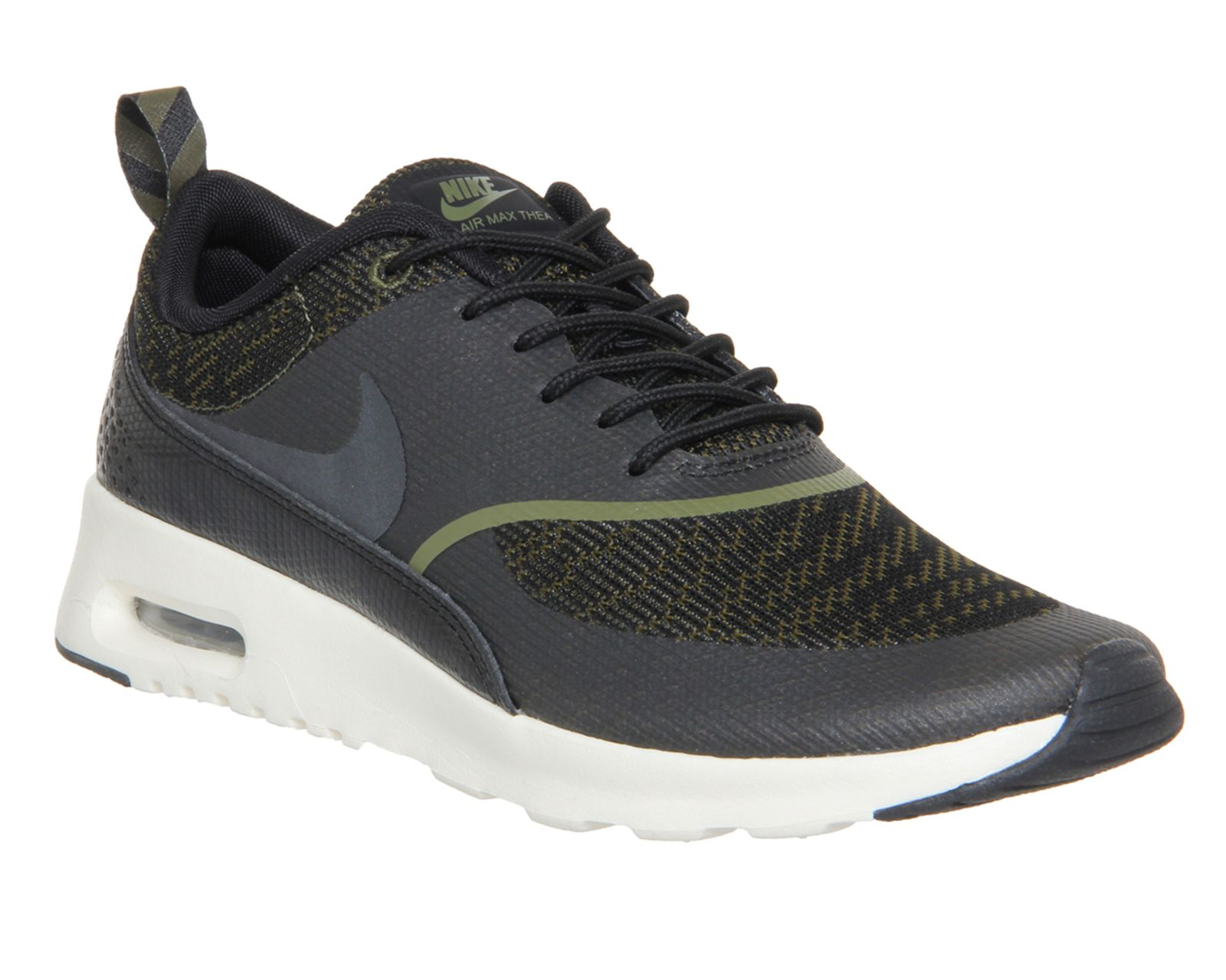 wholesale dealer 5295d c5221 ... denmark nike air max thea faded olive jacquard hers trainers c85e8 eec41