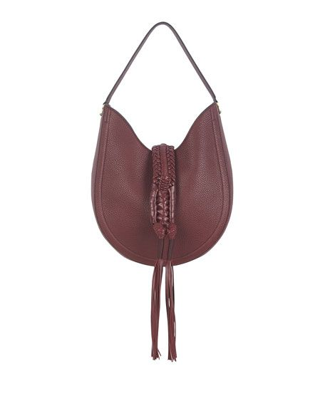 b239dee3379 ALTUZARRA Ghianda Small Leather Hobo Bag, Red. #altuzarra #bags #shoulder  bags #hand bags #leather #hobo #
