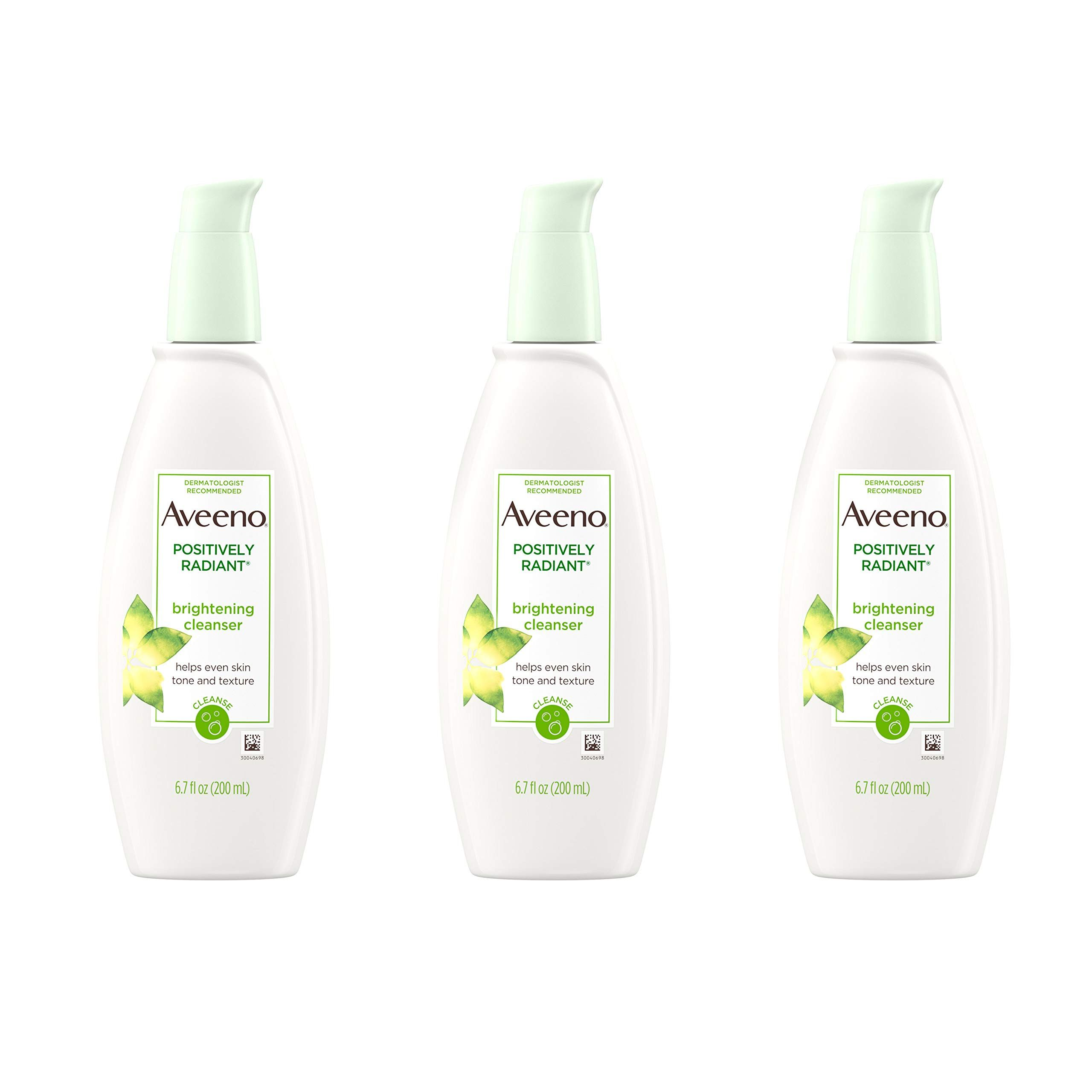 Aveeno Positively Radiant Brightening Facial Cleanser for