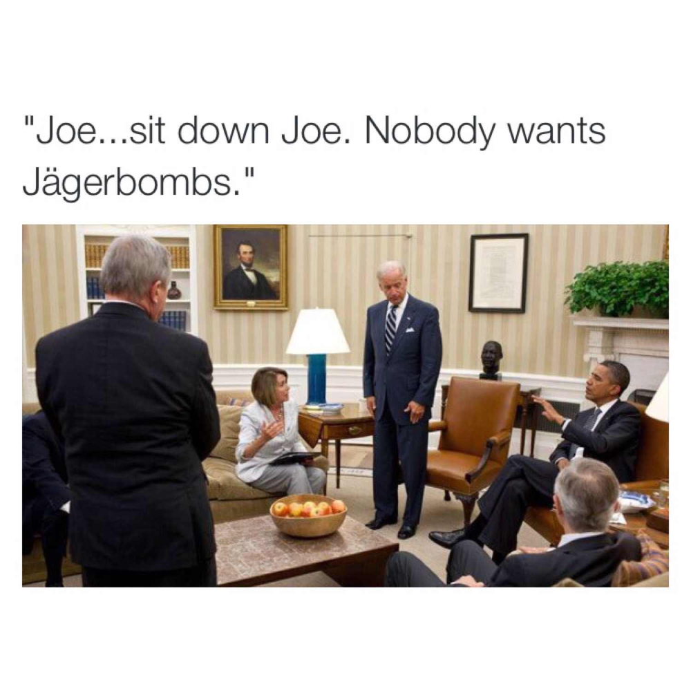 I Nominate The Joe Biden Barrack Obama Bromance Memes For Meme Of The Decade Imgur Barrack Obama Memes The Joe