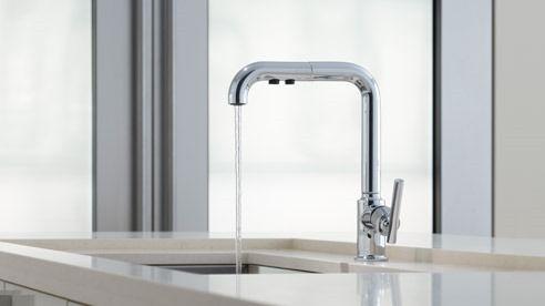 Kohler Purist Faucet Kitchen Faucet Kitchen Sink Faucets Sink