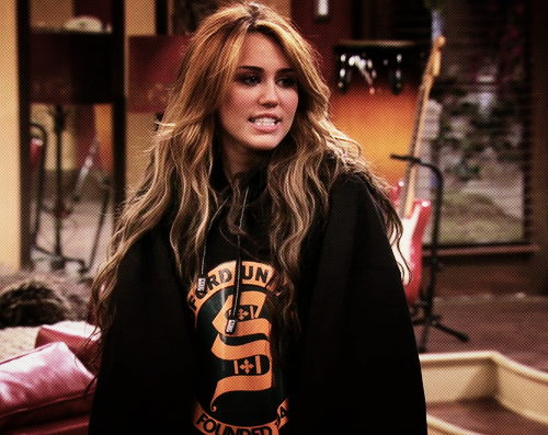 how old was miley cyrus in hannah montana