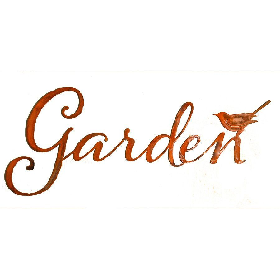 Garden Word Wall Art Walls Gardens And Products