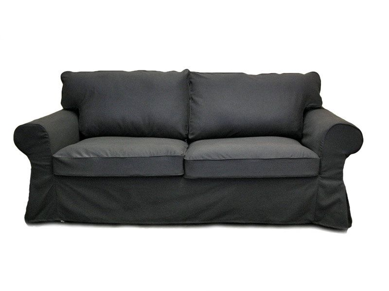 Astounding Grey Slipcovered Sofa Custom Ikea Ektorp Sleeper Sofa Alphanode Cool Chair Designs And Ideas Alphanodeonline
