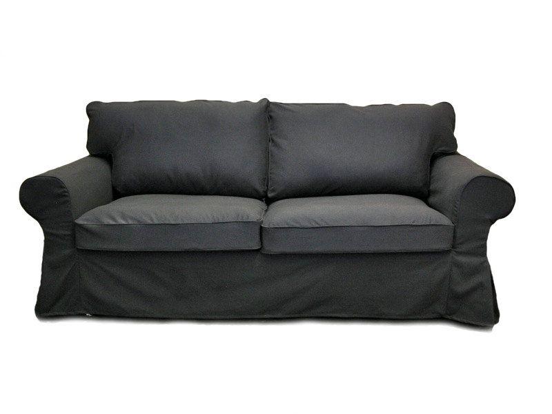 Tremendous Grey Slipcovered Sofa Custom Ikea Ektorp Sleeper Sofa Inzonedesignstudio Interior Chair Design Inzonedesignstudiocom