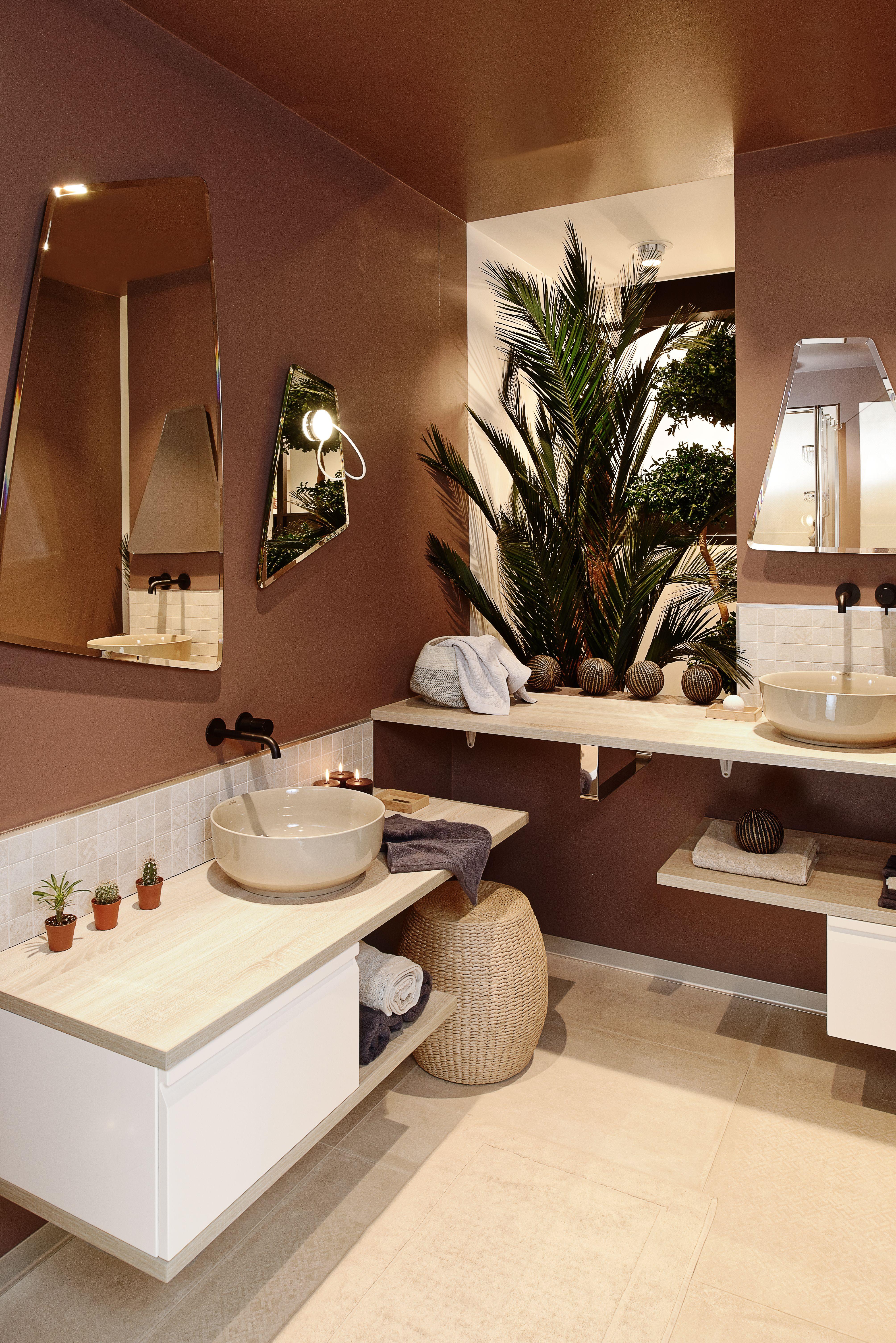 Jolie Salle De Bain Style Naturel Et Hygge Aux Couleurs Blush