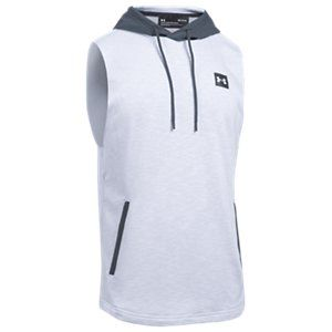 e3e90ce0 Under Armour Sportstyle Sleeveless Hooded Tank Top for Men? - White ...