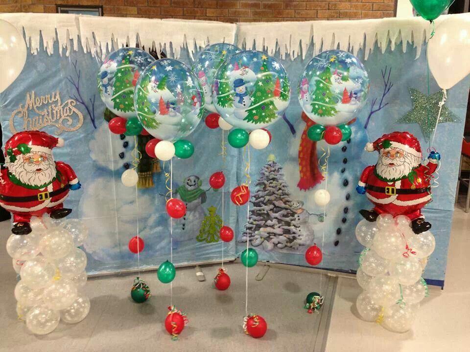 Ideas For Christmas Decorations Uk : Christmas balloons bellissimoballoonco