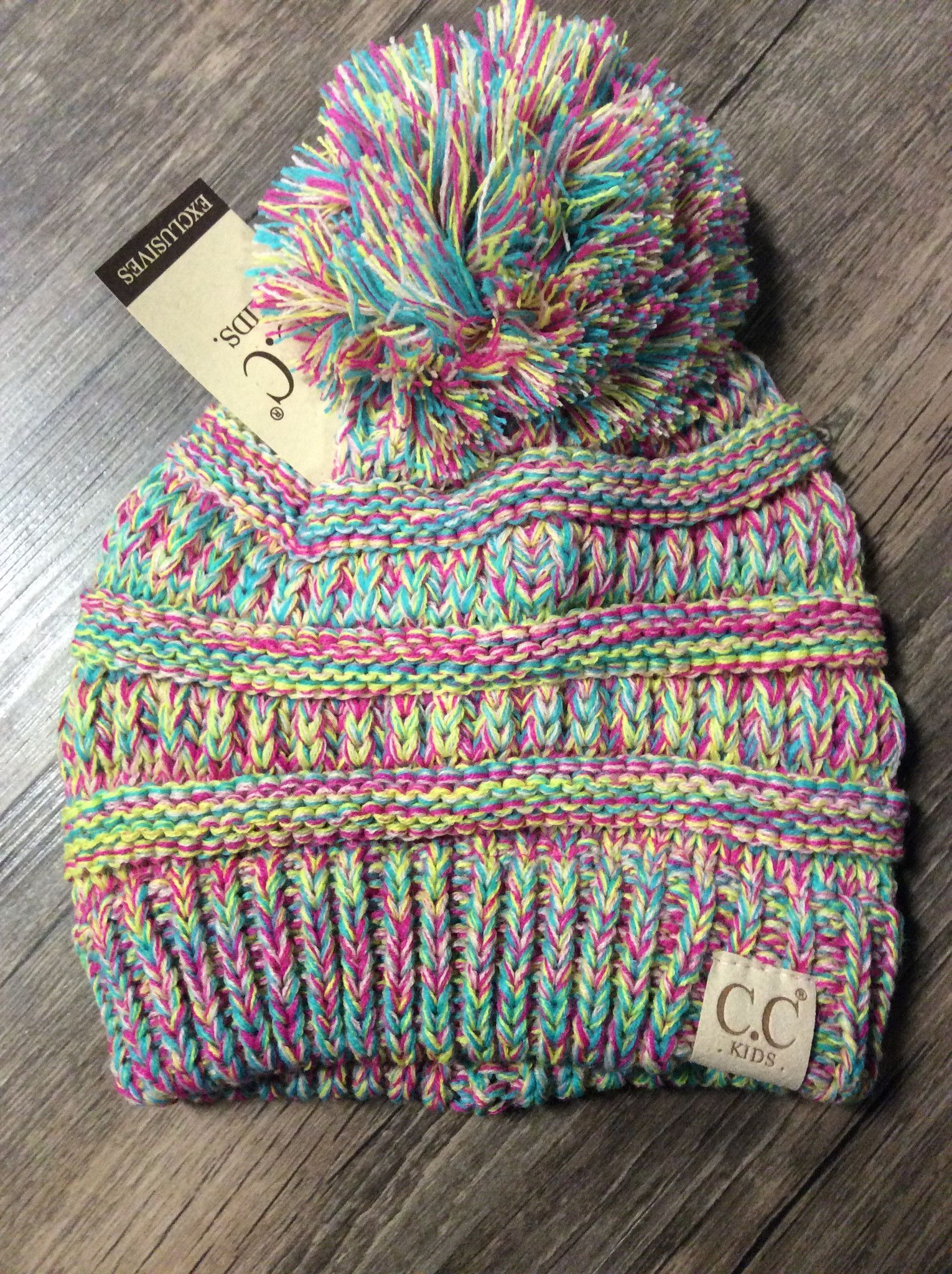 32f6571b8dc The kids version of our classic CC Beanie. Now they can be just like you!