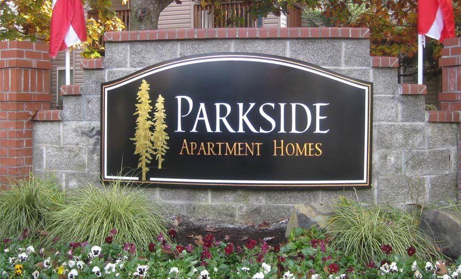 Lantana Apartments Post and Panel Monument Sign | Monument Signs ...