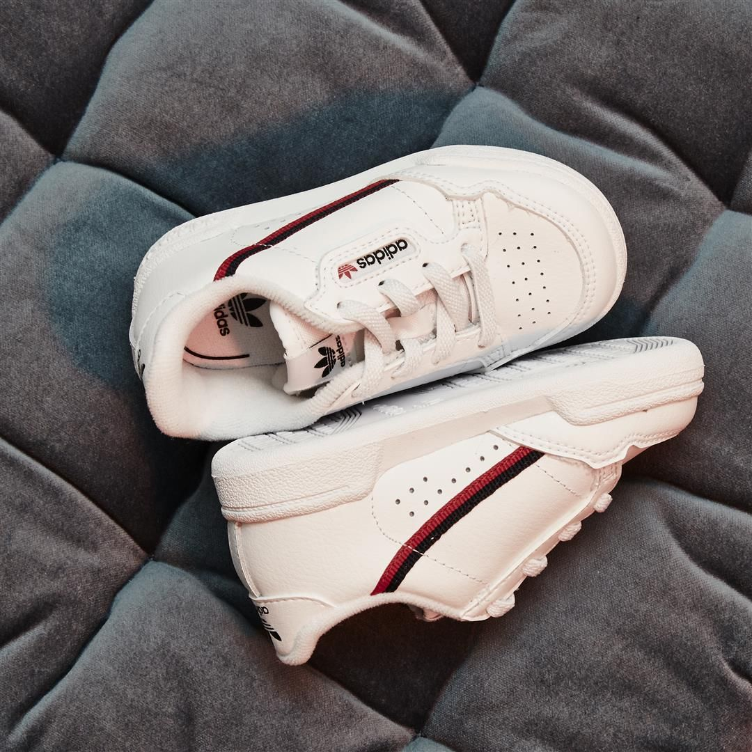 adidasoriginals have pulled these 80's Continental Infant