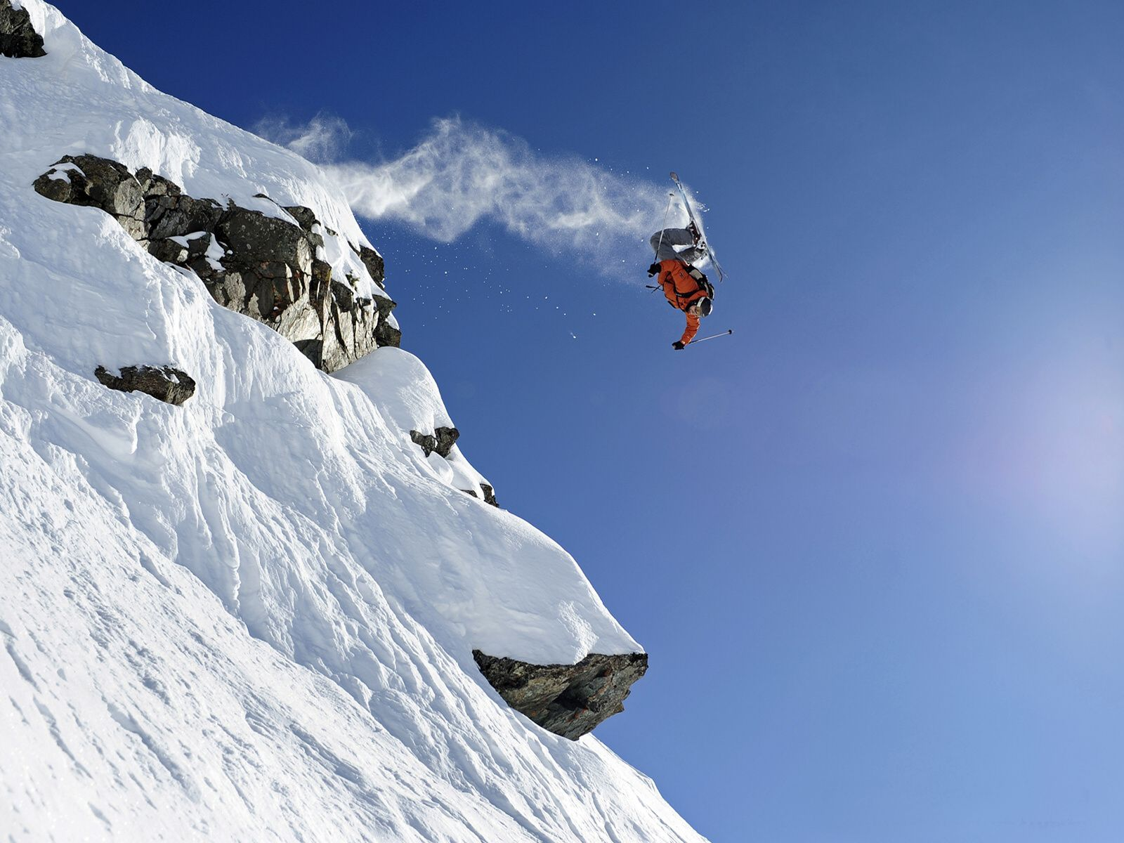 Extreme Skiing Wallpaper: Sports Wallpapers Download