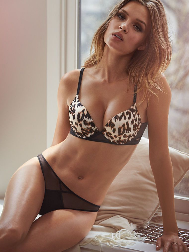 18db6688418c4 Mesh Push-Up Bra - Very Sexy - Victoria s Secret
