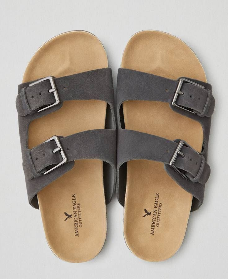 558c44fd400 American Eagle Double Buckle Sandals