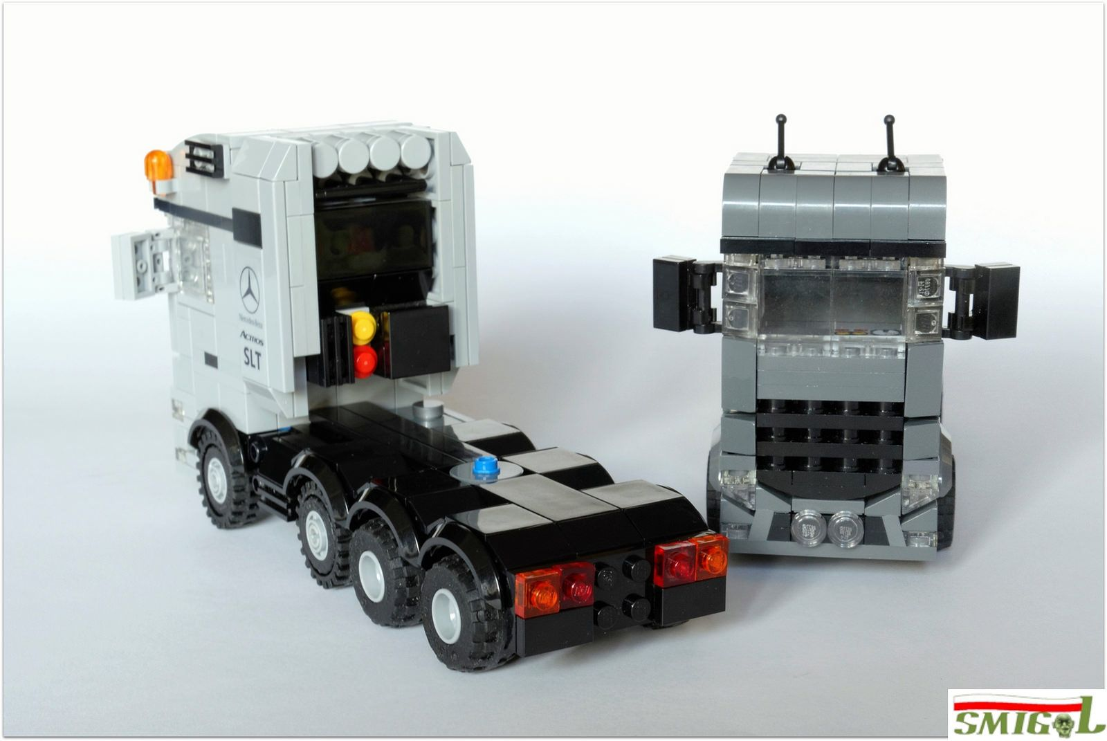 2legoornot2lego s pages bricksafe - Mercedes Actros Mp4 Slt By Smigol_
