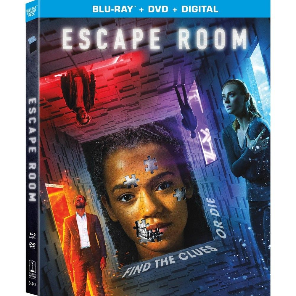 Escape Room Blu Ray Dvd Digital In 2021 Escape Room Sony Pictures Dvd
