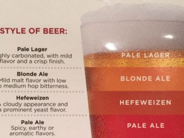 Infographic: A beginner's guide to different styles of beer