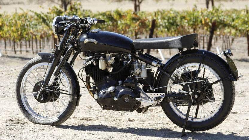 1952 Vincent Black Lightning DREAM BIKE 1952 vincent