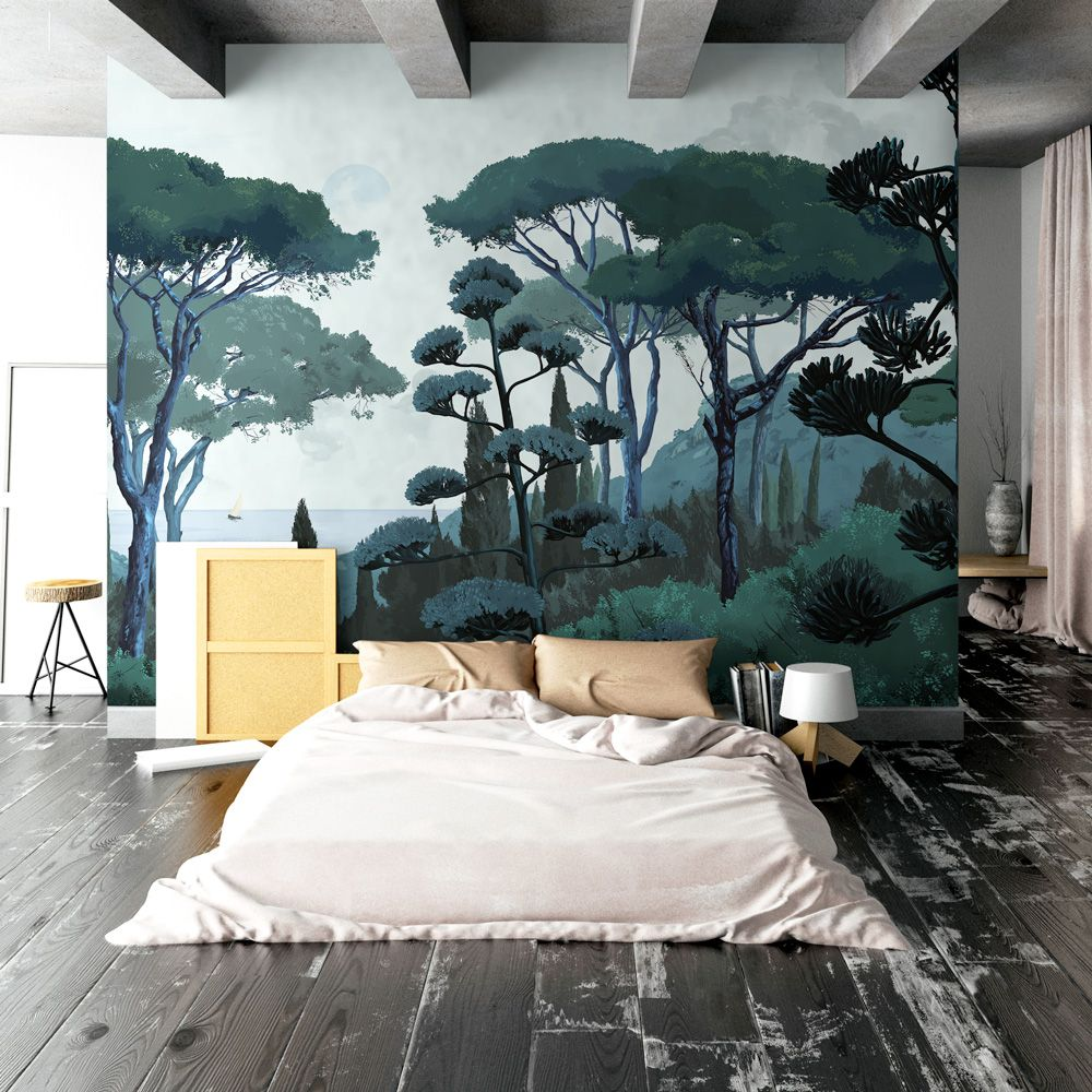 fresque toscane papermint fresque wallpanel wallpaper. Black Bedroom Furniture Sets. Home Design Ideas