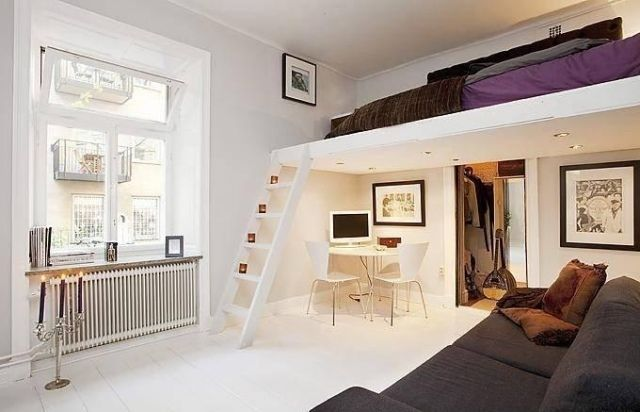 hochbetten erwachsene design moderne kleine wohnung - Neue Moderne Wohnungseinrichtung